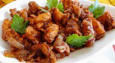 Surinaams eten – Ketjap Pinda Kip (kip in ketjap verrijkt met pinda sambel)