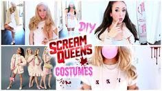 DIY Scream Queens Halloween Costumes! Ariana Grande, Chanel Oberlin...