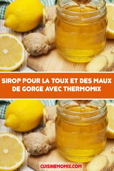 Cough and sore throat syrup with Thermomix - Recettes Thermomix - Cough and sore throat syrup with Thermomix, a natural recipe with no contraindications and no side e - Thermomix Desserts, Detox Soup, Water Recipes, Sore Throat, Fabulous Foods, Detox Drinks, Cantaloupe, Cucumber, Food And Drink