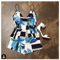 new stockist @fox_maiden - photo of our hot little Venice Beach playsuit perfect summer outfit  |  www.talulah.com.au #isla #playsuit #onlineshopping #boxingdaysale #ootd