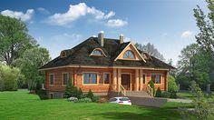 projekt Chmielniki dw9x KRP1334 Home Fashion, Exterior Design, Interior Inspiration, Cabin, Mansions, House Styles, Home Decor, Projects, Decoration Home