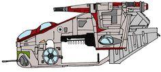 LAAT-I Republic Gunship Standard
