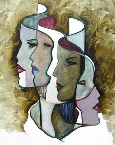 Blue Sky Wallpaper, Cubism Art, Painting Inspiration, Abstract Art, Art Gallery, Drawings, Illustration, Artwork, Prints