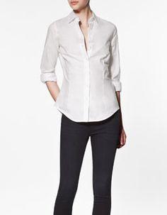 Basic Herringbone Shirt