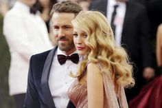cotibluemos: Blake Lively y Ryan Reynolds han sido padres