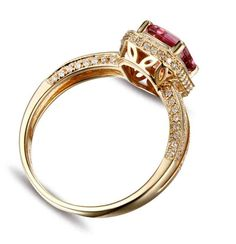 Cheap Yellow Gold Engagement Rings