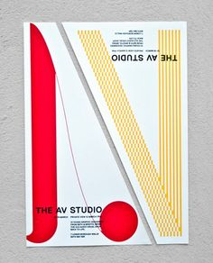 the AV studio, via graphic design layout, identity systems and great type lock-ups.