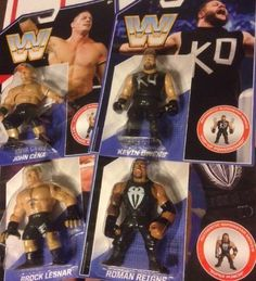 Mattel WWE Retro Action Figures  CENA BROCK LESNAR KEVIN OWENS ROMAN REIGNS - http://bestsellerlist.co.uk/mattel-wwe-retro-action-figures-cena-brock-lesnar-kevin-owens-roman-reigns/
