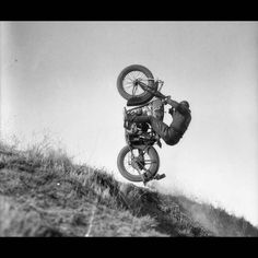 Cool, vintage hill climb pic ----------- **VIEW More Vintage Motorcycle Hill Climb Pictures http://blog.lightningcustoms.com/vintage-motorcycle-hill-climbs/ ---------- #vintagemotorcyclehillclimb #vintagemotorcycle #motorcycle