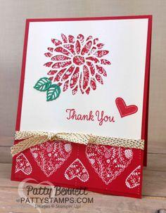 Stylish Stems floral Thank You Cards   Patty's Stamping Spot   Bloglovin'