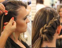 Passo a passo: aprenda a fazer um penteado de diva