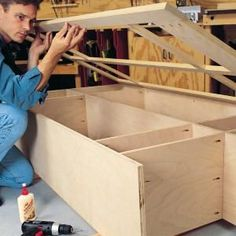 Building Cabinets With Pocket Screws Intimidated by cabinet work? Even a novice can make fine joints with pocket screws
