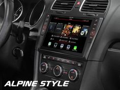 Alpine Headunits for Volkswagen Alpine Style, Vw Crafter, Digital Radio, Volkswagen Polo, Android Auto, Golf, Radios, Trucks