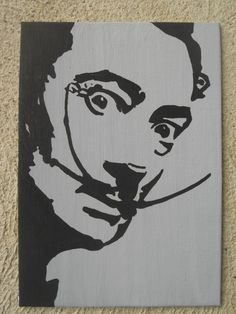 Custom Made to Order  Salvador Dali Pop Art Painting by Meganeato, $28.00
