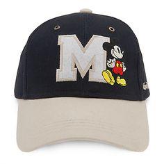 e1ac2b8ac4b Mickey Mouse Letterman Baseball Cap for Adults - Walt Disney World Dad Hats  Trend