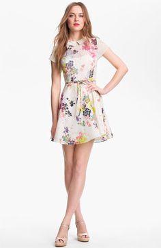 Floral Peter Pan Collar Dress