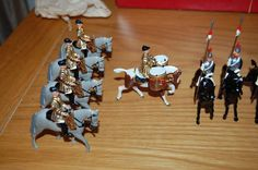RARE VINTAGE BRITAINS LEAD HOUSEHOLD CAVALRY MUSICAL RIDE NO.2085 BOXED | eBay