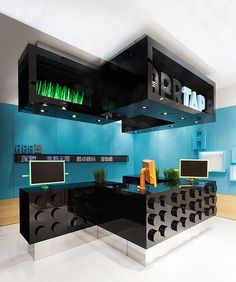 AER Coordination Asia, a Shanghai-based architecture firm known for creating visually robust environments, completed a new breed of telecom stores named AER for AISIDI, one of China's leading resellers for mobile and digital products and services.