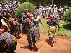 Festival Ngondo, costa Doula de Camerún. Toda la riqueza de África encontraéis en este festival.