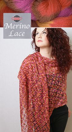 Skacel Merino Lace at 70% Savings!  Fibre Content:100% Shrink Resistant Fine Merino Wool  Made In:Italy  Care:Hand Wash/ Dry Flat  Knit:52 st/4 inches 1.75-3.25 mm (US 00-3)  Yardage:1257 m (1375 yards)  Size:100g (3.5 oz) skein   One skein is all you need!  Standard price for this yarn is US$15.95 - elann.com discounted price saves you as much as 70%!    $4.78 USD / 4.73 CAD*