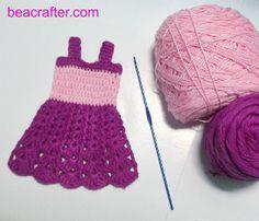 Free crochet pattern for a mini or long crochet fashion doll dress barbie and fashion doll patterns free crochet patterns see more crochet fashion doll tank dress maz kwoks designs dt1010fo