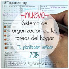 sistema de organizacion tareas del hogar