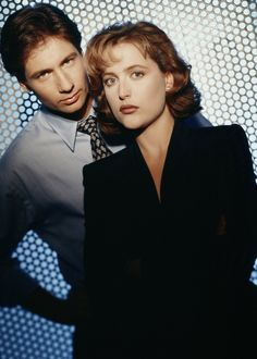 The X Files....The truth is out there. God this was such a great series and still is!