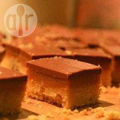 Peanut butter caramel shortbread @ allrecipes.co.uk