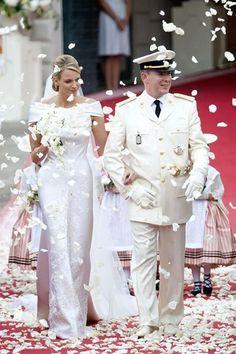 Charlene Wittstock & Prince Albert II of Monaco