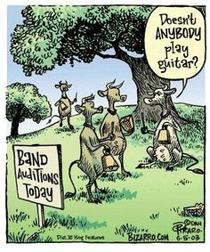Hahaah... I need more cowbell!