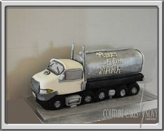 Tanker Truck Cake by Novy