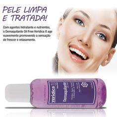 Equilibre o pH da sua pele... http://www.veridicait.com.br/demaquilante-oil-free/   #demaquilante   #pele   #limpezadepele   #maquiagem   #makeup