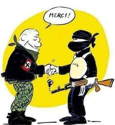 #Fascistic friends - common #enemy #HateBreedsHate #EraseTheHate #ParisAttacks https://t.co/Kk3Ul012PV