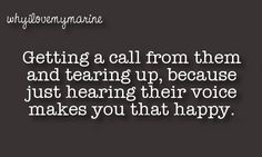 I never take any phone call for granted
