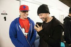Donnie Wahlberg and Vanilla Ice