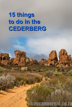 15 things to do in the Cederberg Just from Cape Town, the Cederberg Wilderness Area is a destination to please everyone, with lots to do from hiking and MTB or even great places to enjoy a glass of wine and watch the mountains. Places To Travel, Travel Destinations, Places To Visit, Holiday Destinations, Wilderness South Africa, Stuff To Do, Things To Do, All About Africa, South Afrika