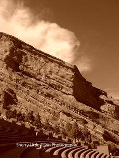Denver Colorado 8 x 10 Fine Art  Photography of Red Rocks in Denver Co
