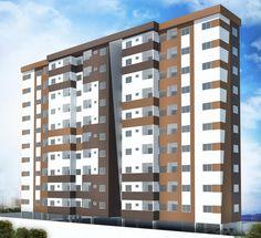 Estudo de um residencial popular no bairro Siqueira Campos - Immobile Arquitetura