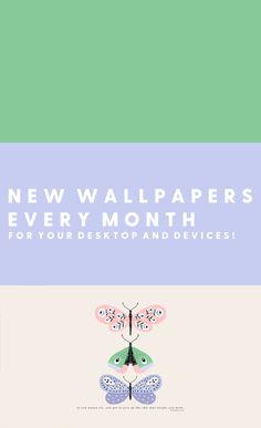 Do your devices look a little drab? Give your desktop, iPhone and iPad a new look every month with new wallpapers and other exclusive rewards on Pop! Goes The Reader's Patreon! Every Month, New Wallpaper, Desktop, Ipad, Wallpapers, Iphone, Decor, Decorating, Wallpaper