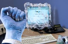 """""""My Computer is Frozen."""" - Worth1000 Contests"""