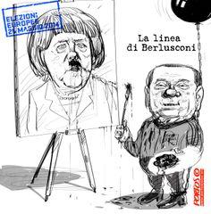 La linea di Berlusconi