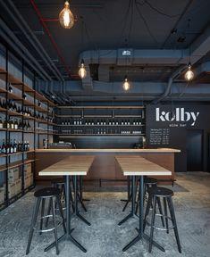 Kolby Wine Bar de CMC Architects | Diseño de bares