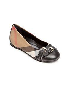 Burberry Enfants Vérifié Slip-on Chaussures De Sport - Marron IWMTP7g