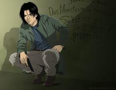 Where is that monster? by BrET13.deviantart.com on @deviantART Dr. Kenzo Tenma, Monster