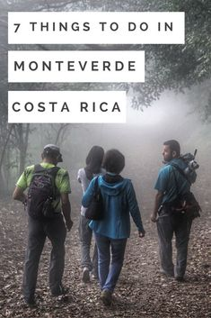 7 amazing things to do in Monteverde cloud forest, Costa Rica. Costa Rica | Costa Rica travel blog | tips for traveling in Costa Rica