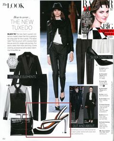 Black & white for Spring! Get the Look with Via Spiga in the March issue of @Harper's Bazaar.