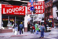 Larkin And Geary Street, Tenderloin,  San Francisco By Mitchell Funk  www.mitchellfunk.com