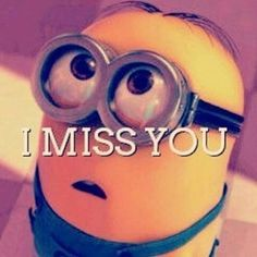 i miss you minion - Google Search