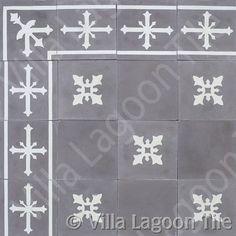 Cadiz tile - https://www.villalagoontile.com/caribbean-cement-tile.html