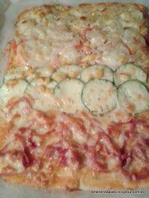 La merienda a las cinco: Pizza casera. Homemade pizza